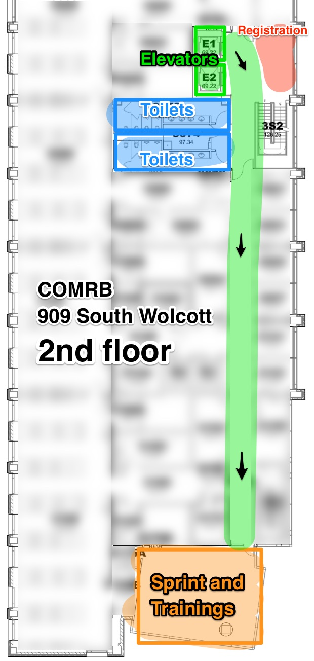 COMRB floor layout