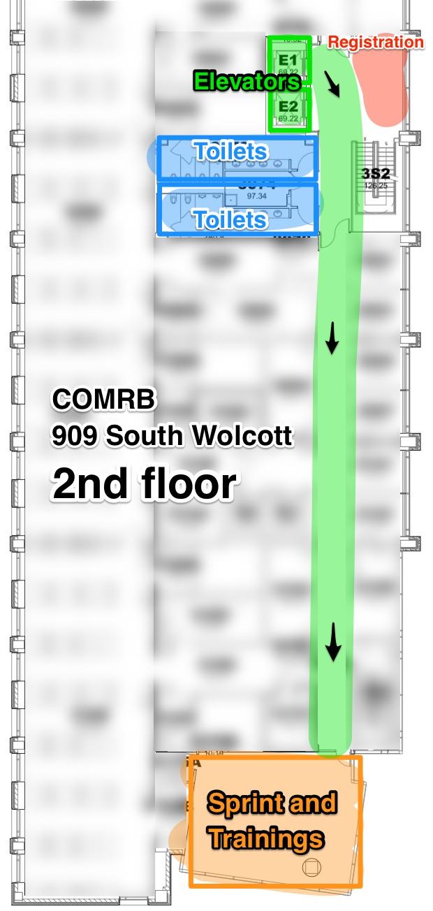 COMRB floor layout